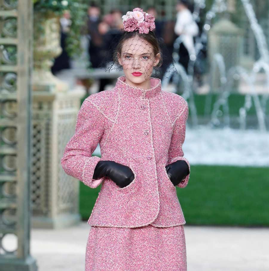 Chanel instaló un jardín francés en el Grand Palais de París ...
