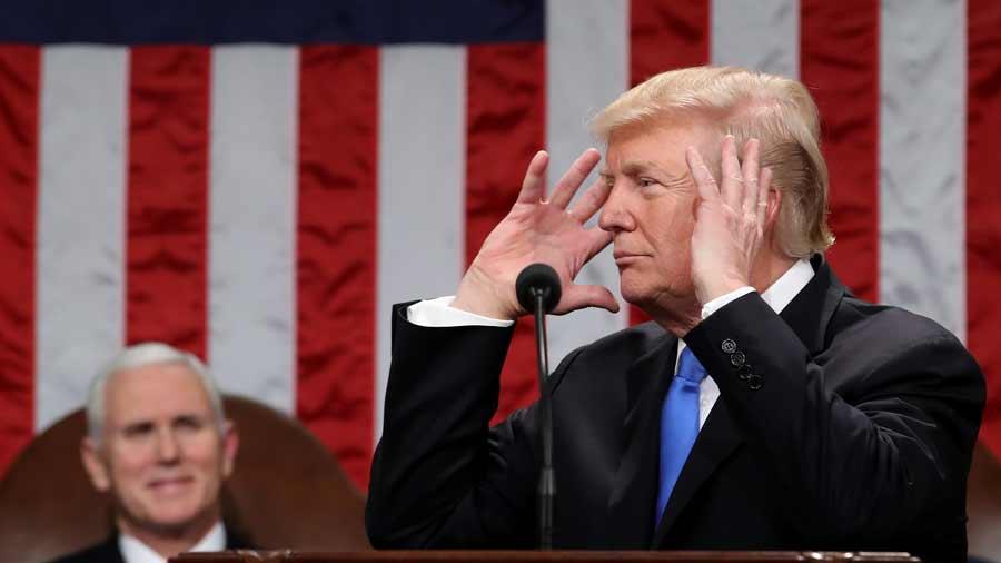 Trump critica a El Salvador y México por permitir llegada de maras