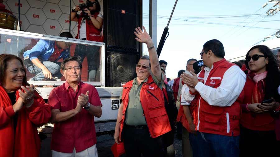 FMLN-caravana17