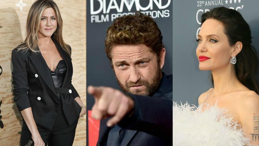Butler confiesa quién besa mejor entre Jolie y Aniston