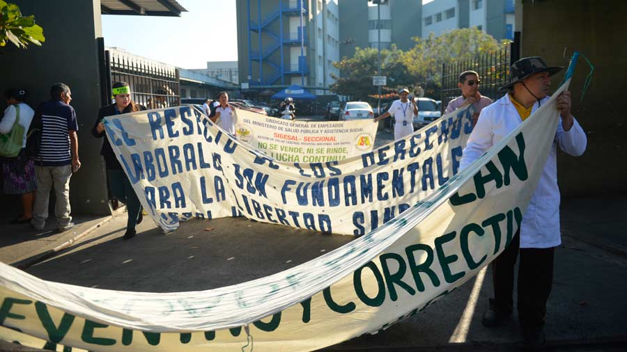 Protestas Hospitales
