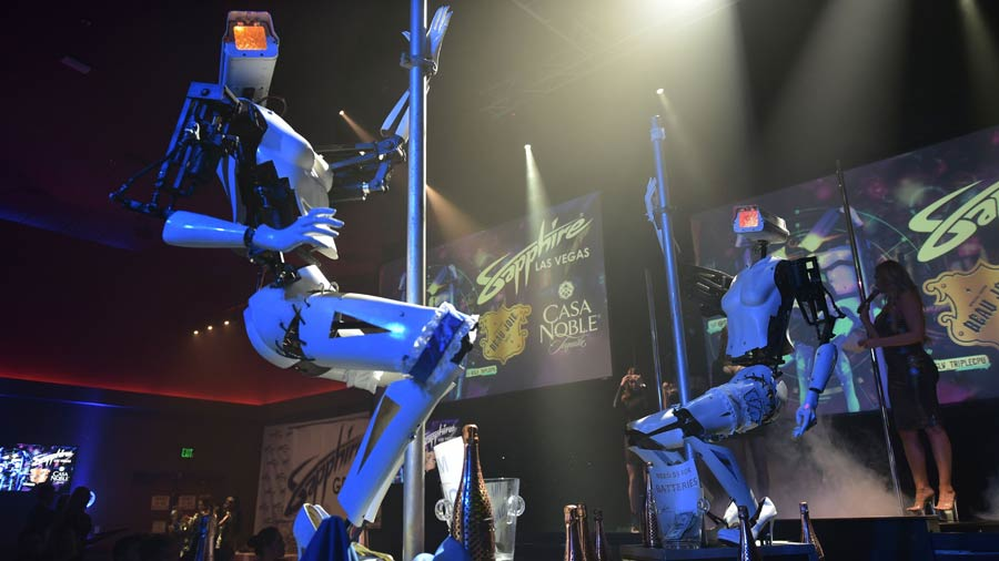 Strippers robots