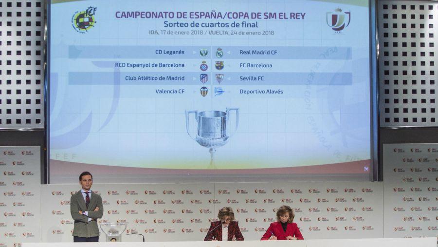 Así se jugarán los cuartos de final en Copa del Rey | elsalvador.com