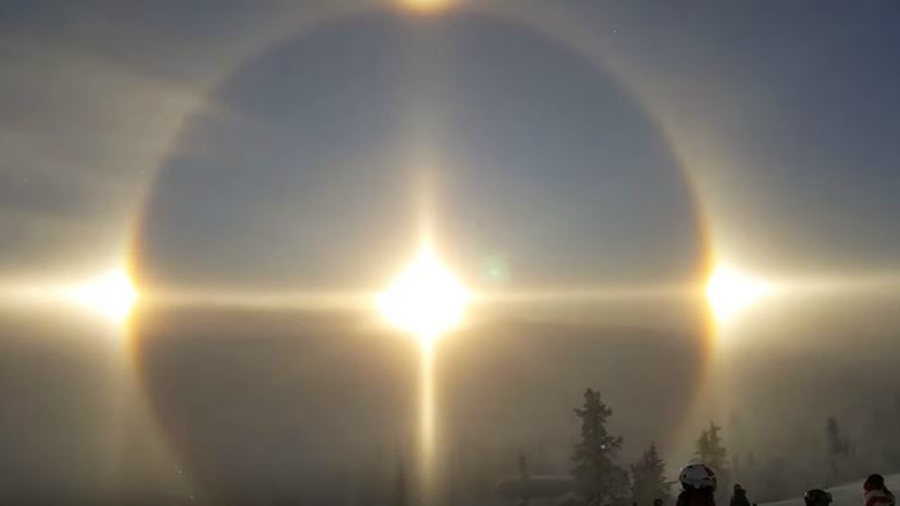 Esta es la explicación al extraño fenómeno óptico que sucedió en Suecia