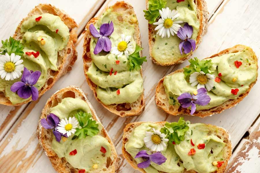 Comida sana vegetal y orgánica