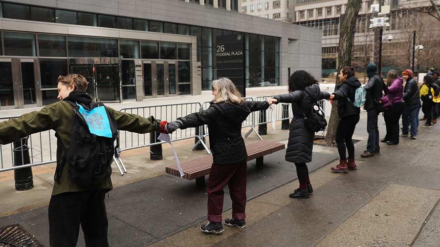 protesta new york
