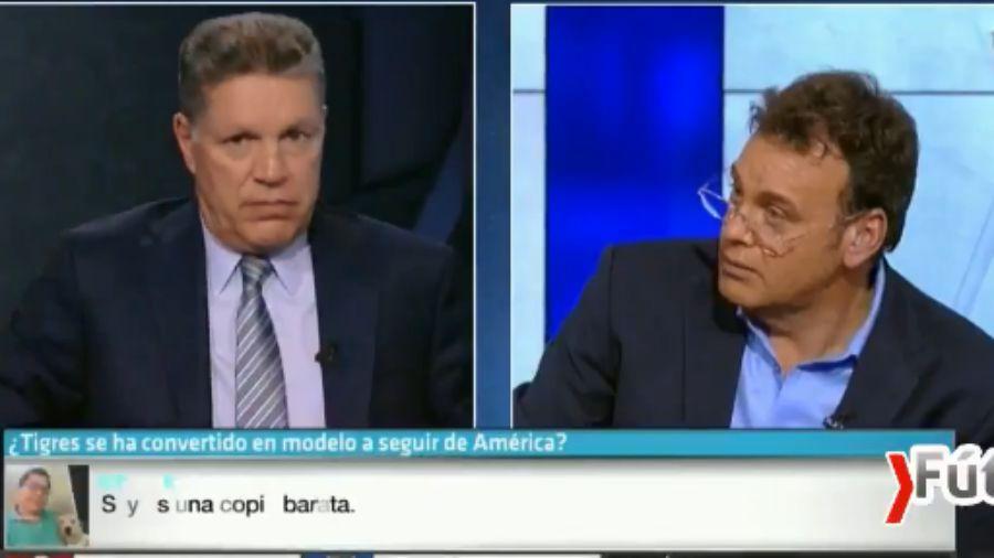 Peláez llama estúpido a Faitelson en programa en vivo
