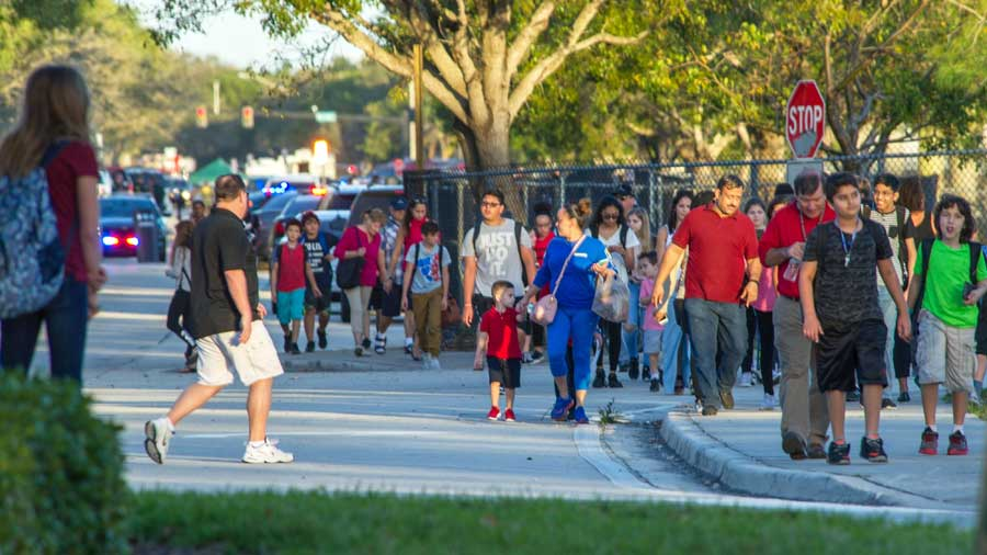 Reportan tiroteo en secundaria de Maryland, Estados Unidos