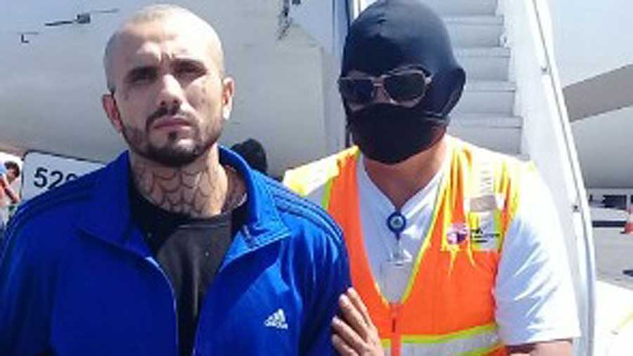 Detienen a pandillero que intentaba esconderse en EEUU tras homicidio