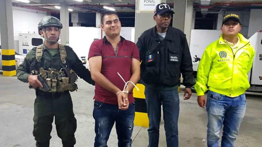 Capturan en Colombia a jefe de banda de narcotraficante