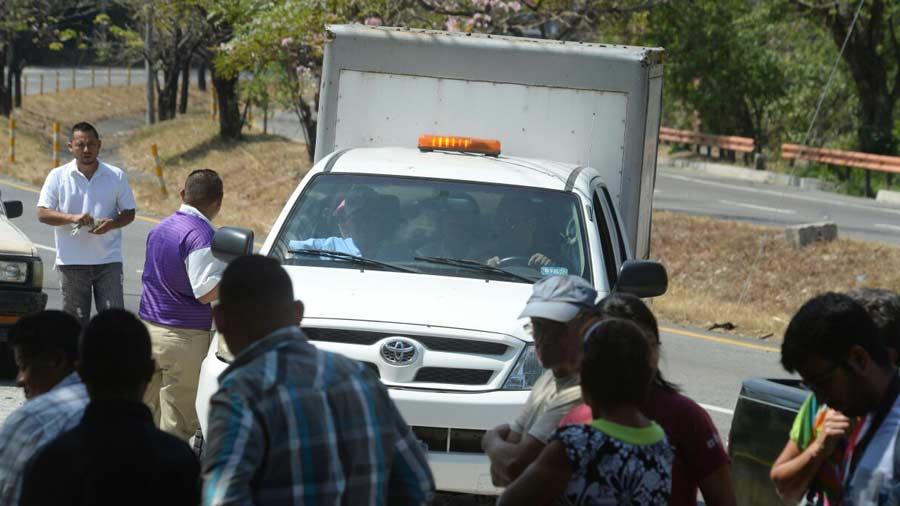 Embolsado autopista Comalapa
