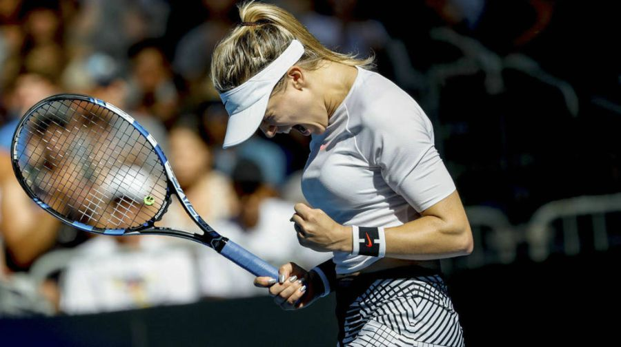 Eugenie Bouchard descuidó el tenis y perdió varios patrocinadores