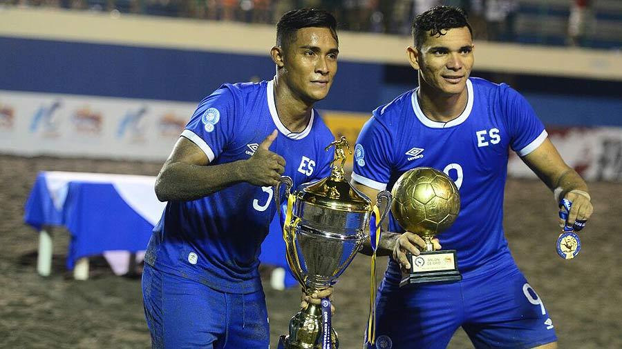 UNCAF 2018: El Salvador 6 Panama 2. Guerreros-de-Playa-2