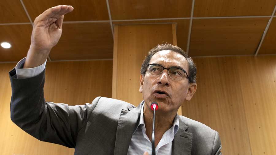 Vizcarra anuncia que su gabinete estará listo en abril