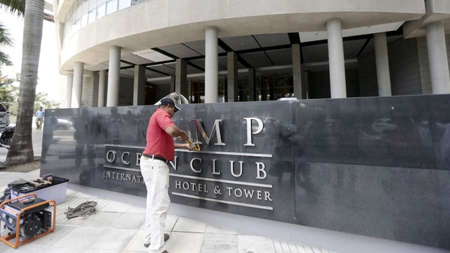 Cambian nombre al hotel Trump en capital panameña