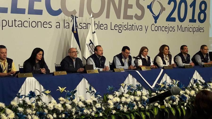 Poder electoral de El Salvador reconoce 'error' en escrutinio