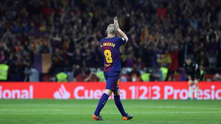Goleada del Barcelona para coronarse en la Copa del Rey