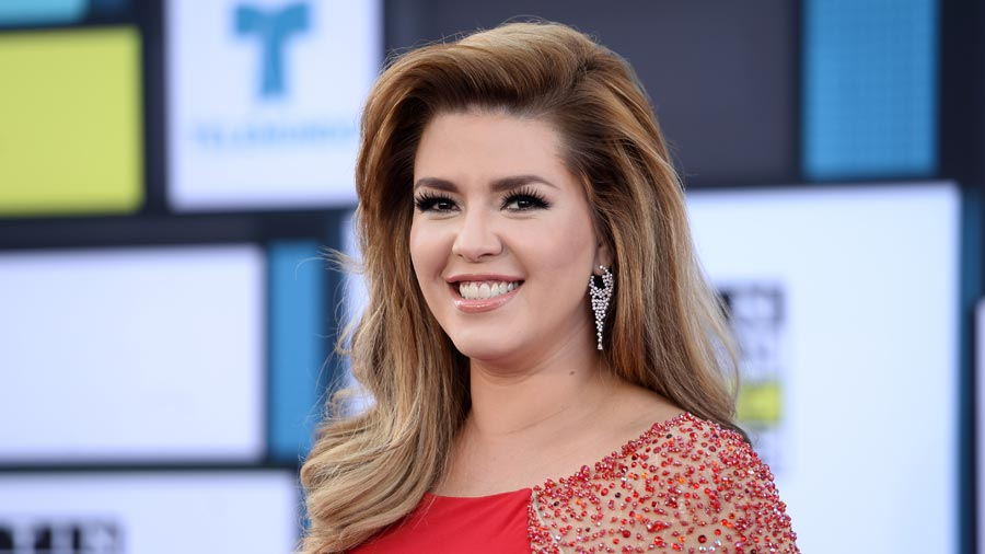 Alicia Machado y el beso que presume con Donald Trump