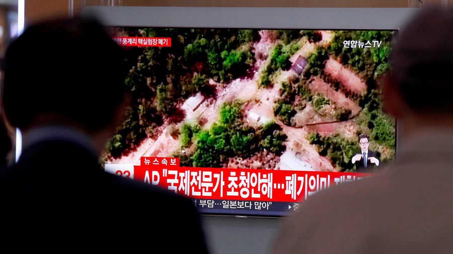 Corea del Norte destruye su base de pruebas nucleares ante medios
