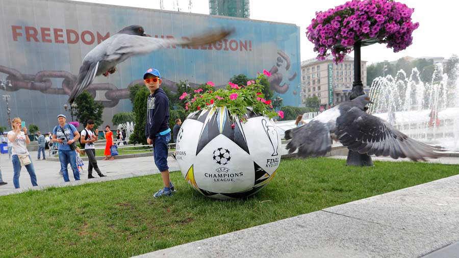 Amenaza de bomba en cinco estaciones de metro en Kiev — Champions League