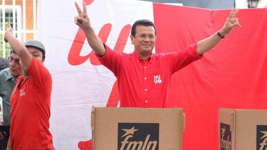 hugo martínez candidato presidencial del fmln para elecciones 2019