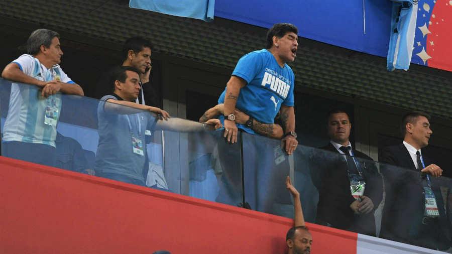 Maradona busca al autor de los audios de su muerte - Rusia 2018