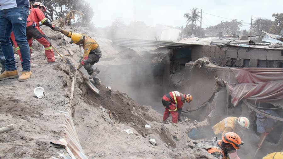 Guatemala resiente sismo de magnitud 5.8