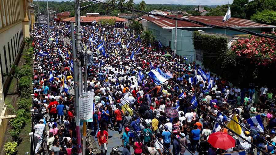 Ortega busca controlar la ciudad de Granada — Nicaragua