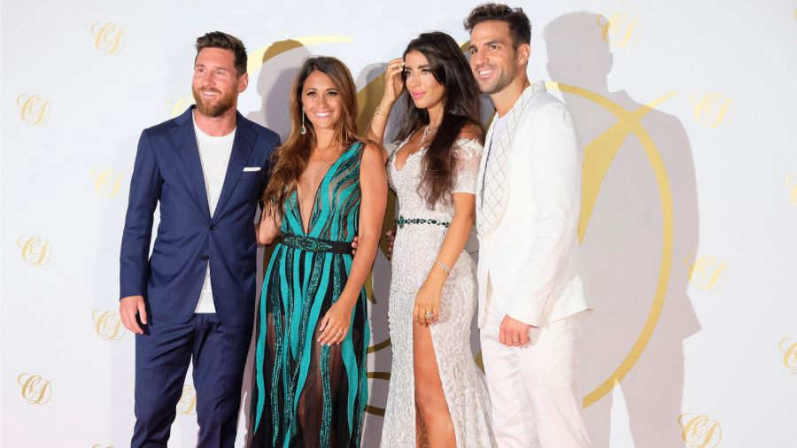 Cesc Fábregas y Daniella Semaan celebran en Ibiza su boda