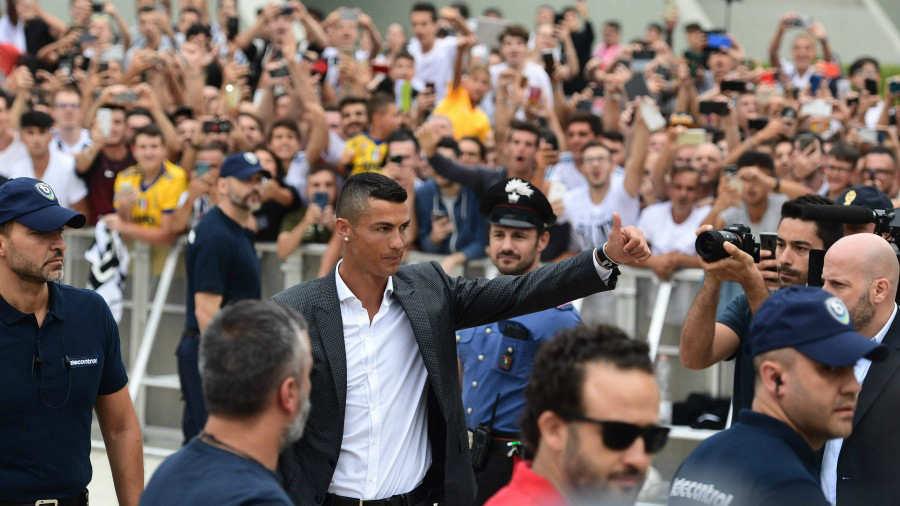Zidane podría unirse nuevamente con Cristiano Ronaldo en la Juventus