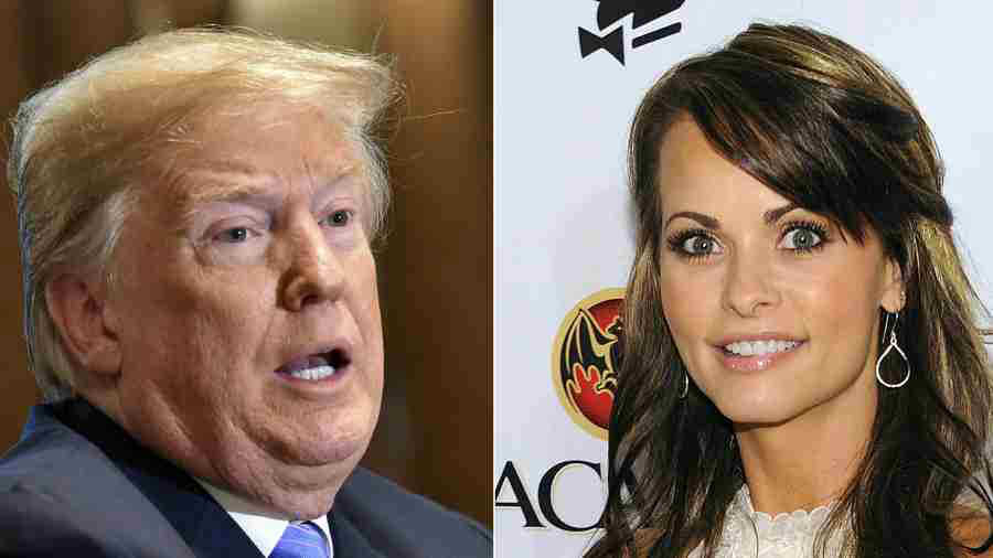 Donald Trump y exmodelo Playboy Karen McDougal