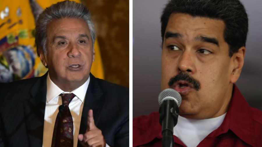 Maduro acusa a Ecuador de ir contra su soberanía