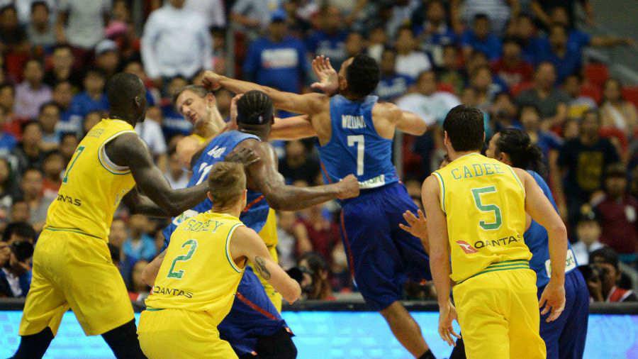 Resultado de imagen de Australia Filipinas Ventanas FIBA resultado