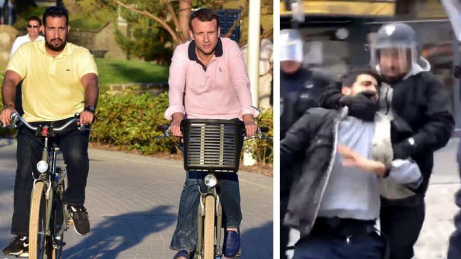 Internacionales: Macron despide a un colaborador detenido por golpear a un manifestante