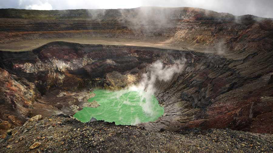 Volcán Ilamatepec, en Santa Ana, uno de los más visitado por los turistas | Noticias de El Salvador - elsalvador.com