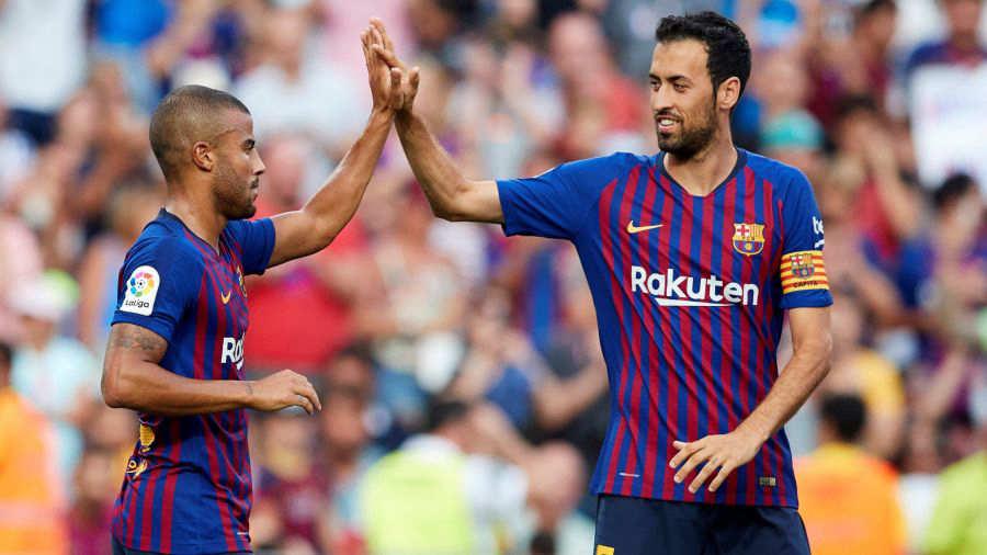 El Barça lucirá el distintivo de campeón de Liga