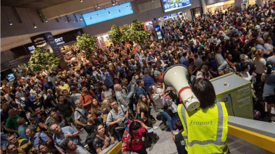 Evacúan el aeropuerto de Frankfurt por una operación policial