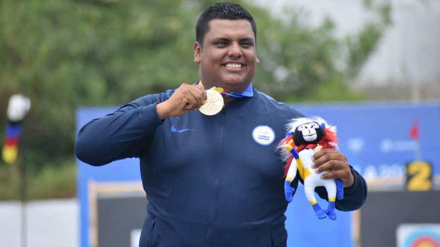 Roberto Hernández logra medalla de oro en Barranquilla 2018