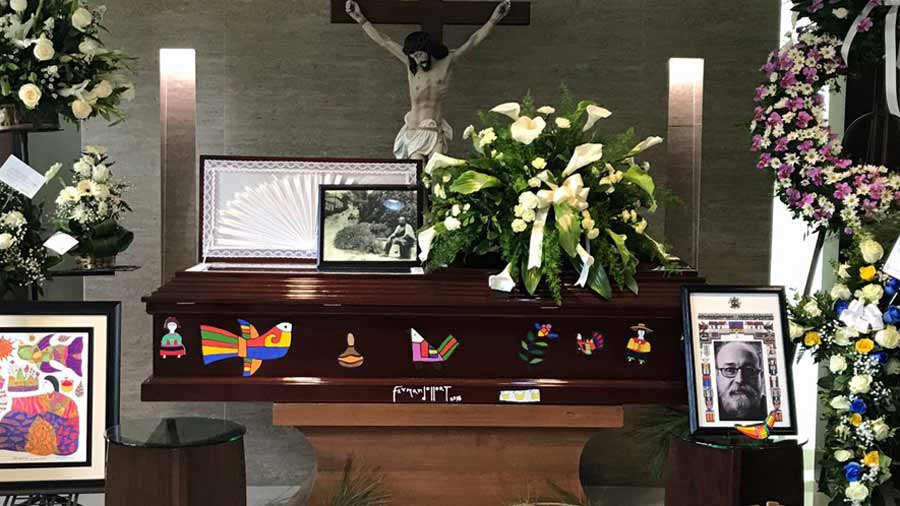 Muere artista salvadoreño Fernando Llort