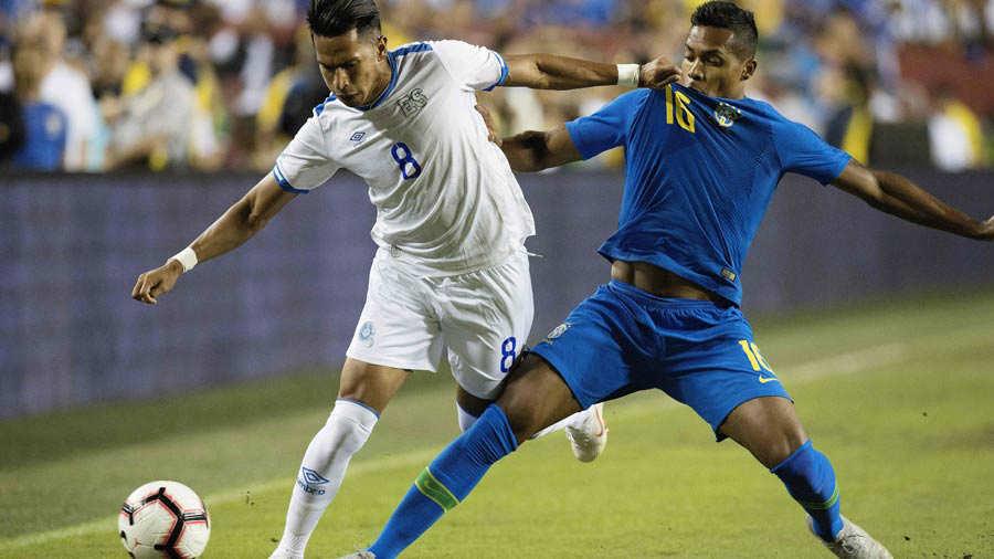 11-9-2018 - Amistoso El Salvador 0 Brasil 5. Brasil31