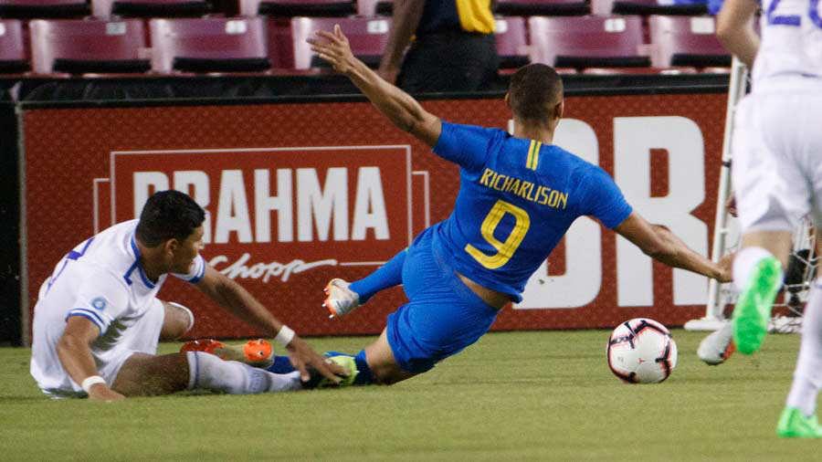 11-9-2018 - Amistoso El Salvador 0 Brasil 5. El-salvador-3