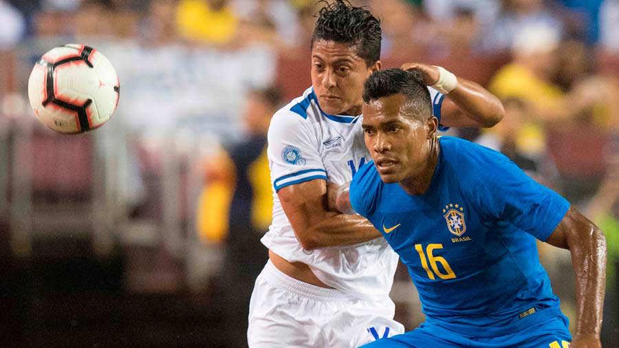 11-9-2018 - Amistoso El Salvador 0 Brasil 5. El-salvador-4