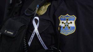 Corporación policial despide los restos de Carla Ayala con máximos honores