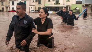 Sinaloa bajo el agua tras intensas lluvias