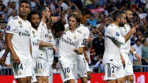 Real Madrid golea a la Roma en el inicio de la Champions League