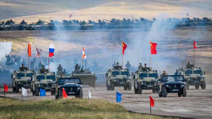 Militares Rusia China