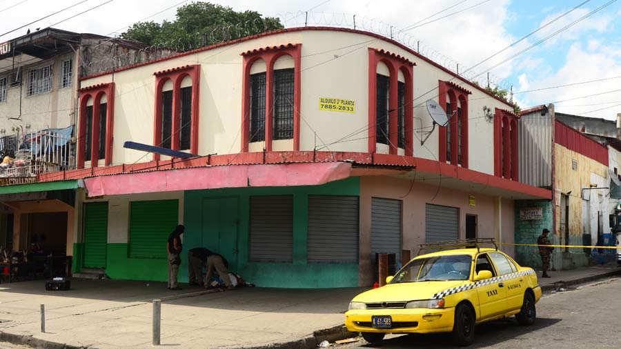 homicidio taxista Centro