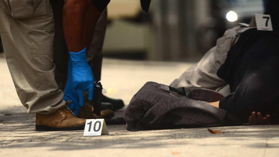 Homicidio Vigilante Centro