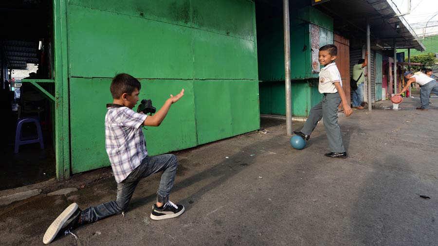 Mejores amigos Centro de San Salvador