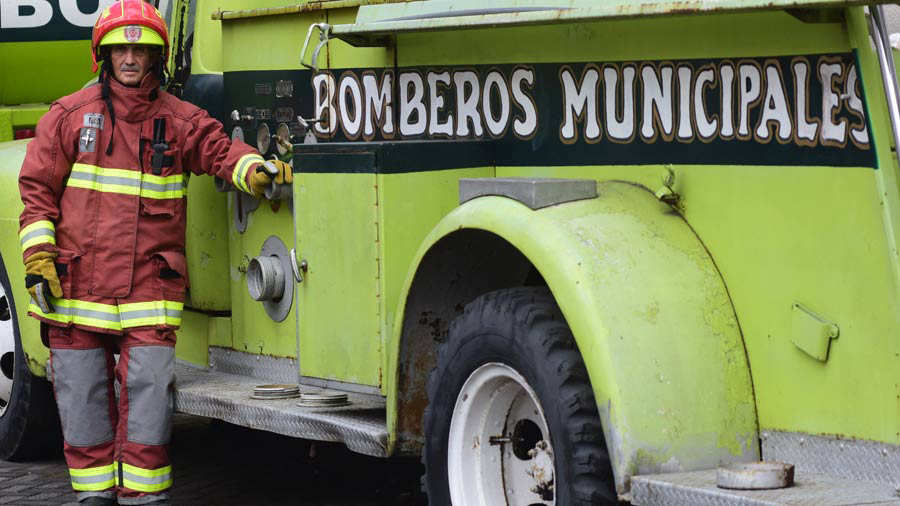 Bombero Guatemala